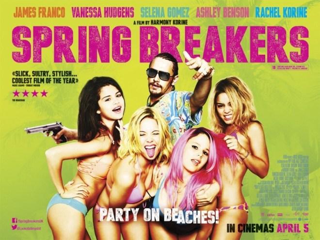Spring-Breakers-UK-Quad-Poster-Green