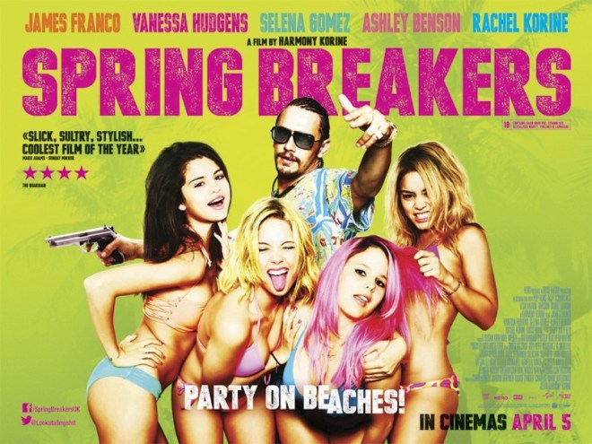 Spring-Breakers-UK-Quad-Poster-Green