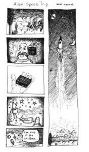 Assorted comics - by Andy Mai Mai