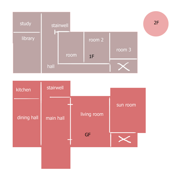 Gothboi Manor Floor Plan (2012)